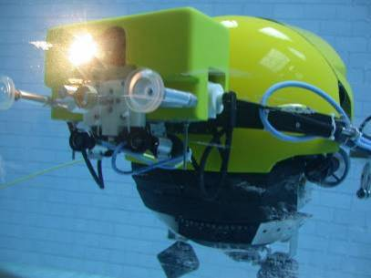 Remotely Operated Tank Inspection System